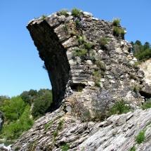 Restes pont en pierre